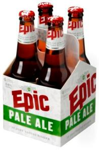 Epic Pale Ale 4 Pack - Side