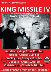 King Missile poster tour final 339